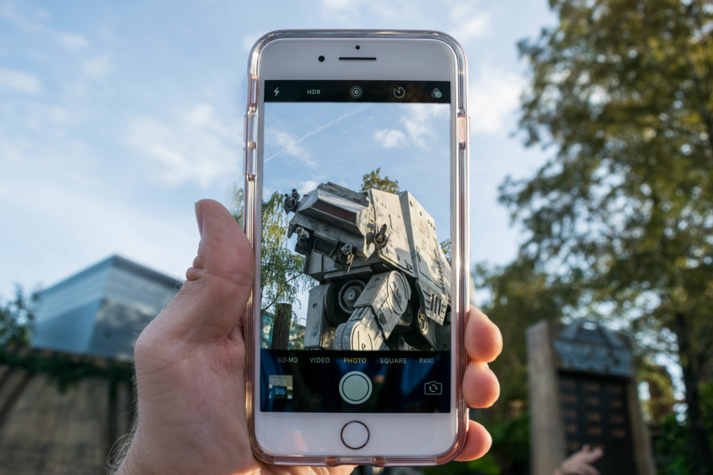 iPhone at Disney's Hollywood Studios