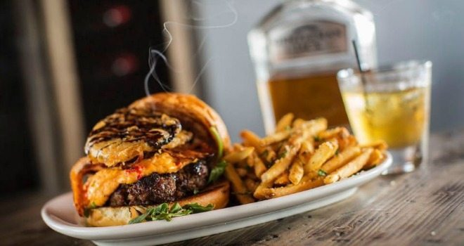 The Whiskey Burger at The Whisky