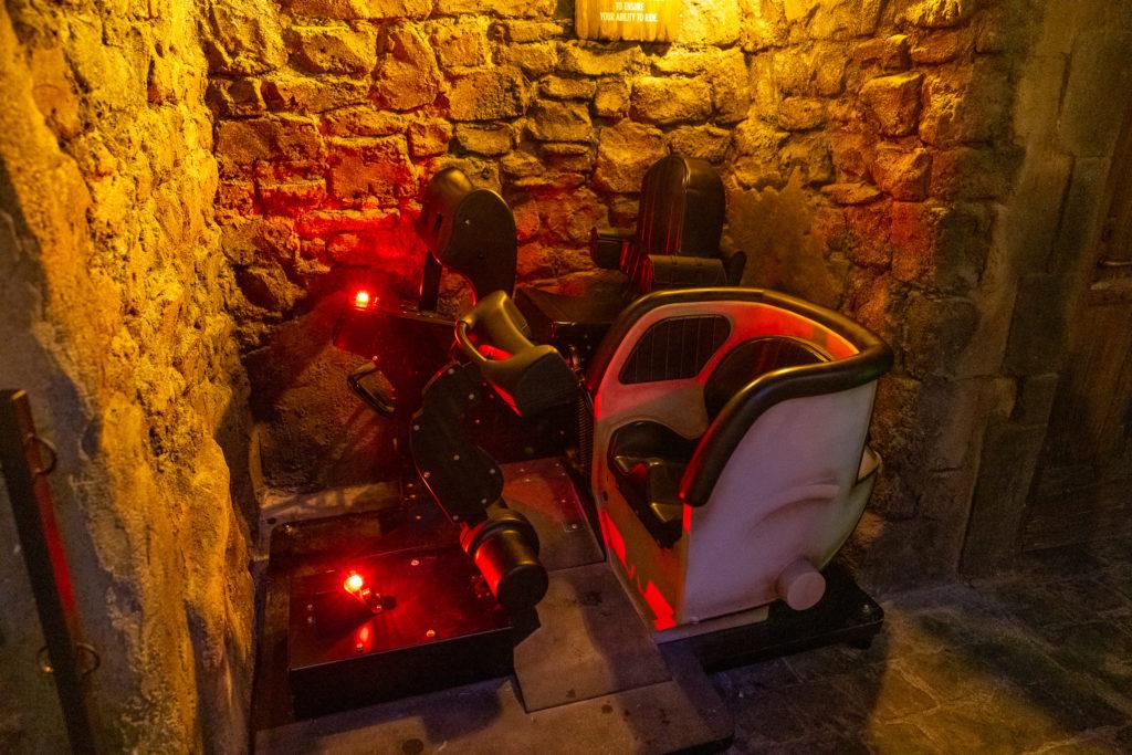 Hagrid's Magical Creatures Motorbike Adventure test seats