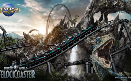 Jurassic World VelociCoaster REVEALED