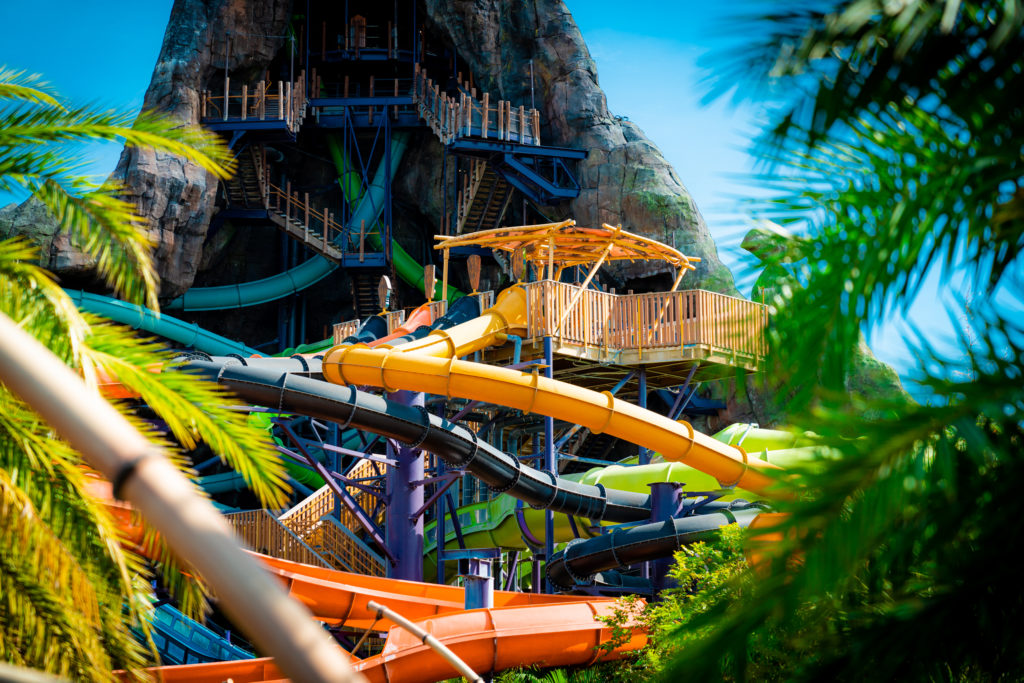 Punga Racers at Volcano Bay