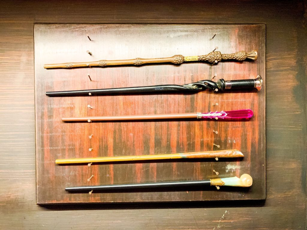 Fantastic Beasts wands at Universal Orlando