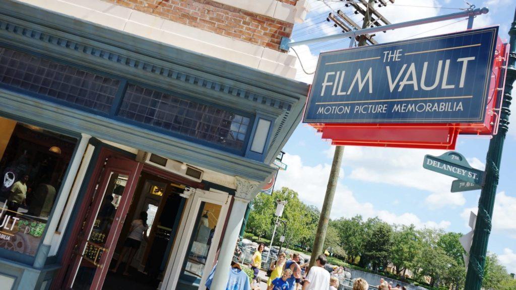 The Film Vault shop entrance