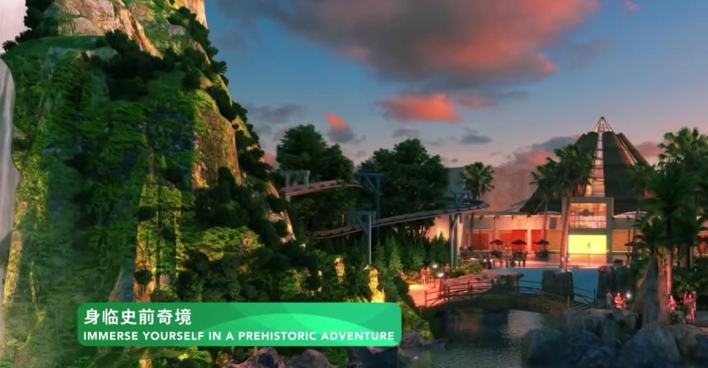 Jurassic World Isla Nublar - Universal Studios Grand Hotel - Universal Studios Beijing