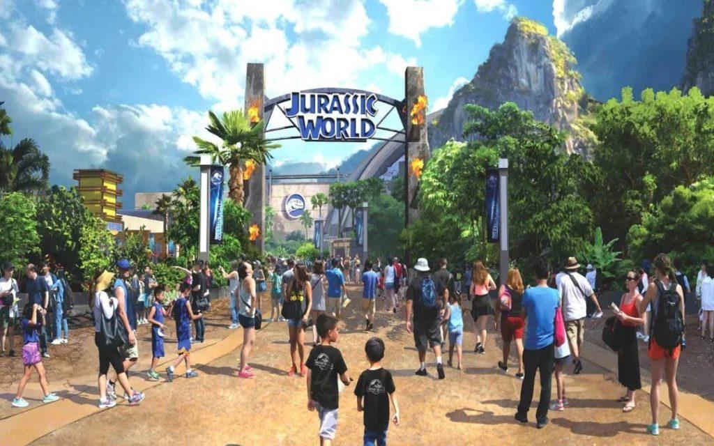 Jurassic World Universal Studios Beijing concept art