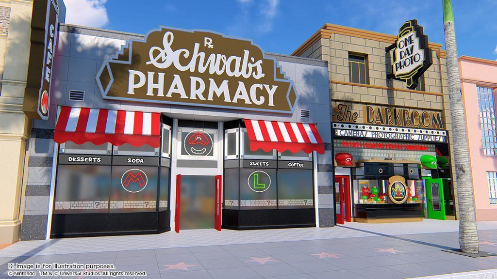 Mario Cafe & Store facade