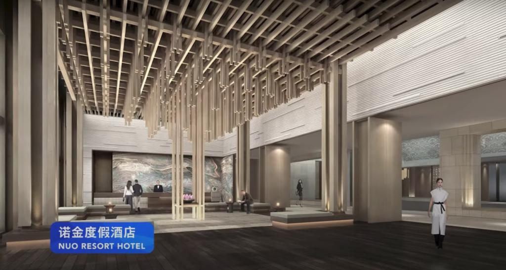Nuo Resort Hotel - Interior Concept Art - Universal Studios Beijing