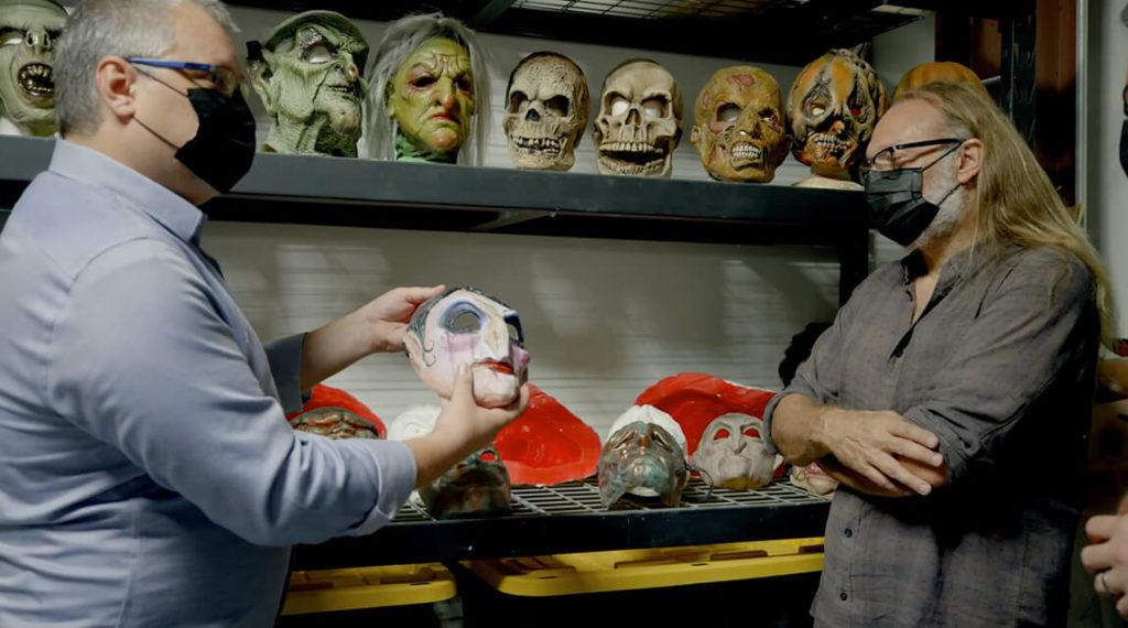 Puppet Theatre behind-the-scenes video Halloween Horror Nights 2021
