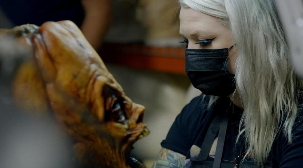 Puppet Threate behind-the-scenes video Halloween Horror Nights 2021