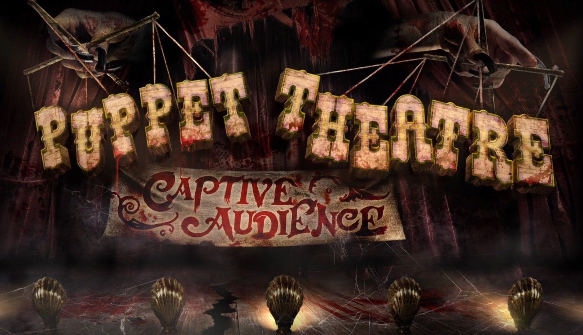 Puppet Theatre: Captive Audience concept art - Halloween Horror Nights 2021