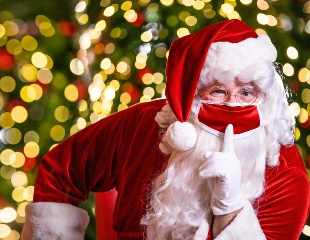 Santa at Busch Gardens Tampa's Christmas Town 2020