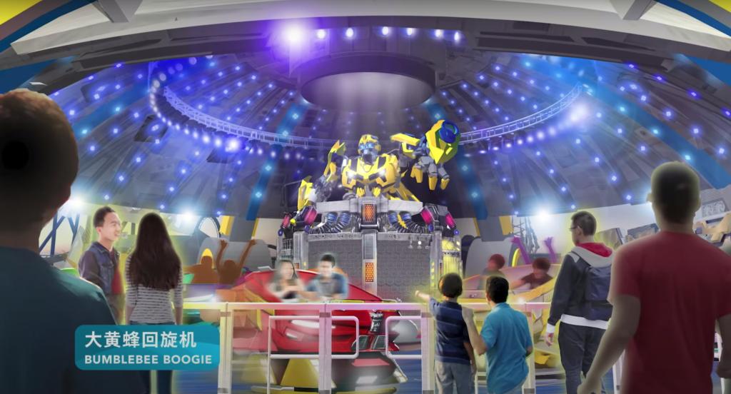Transformers Metrobase - Bumblebee Boogie - Universal Studios Beijing