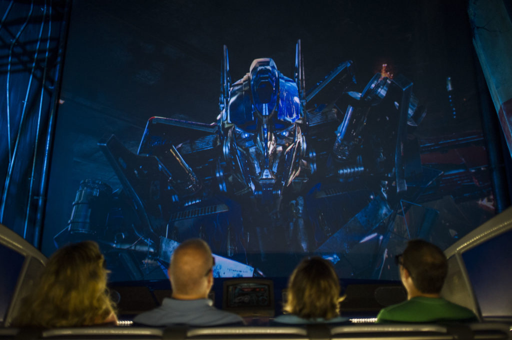 TRANSFORMERS: The Ride - 3D at Universal Studios Florida