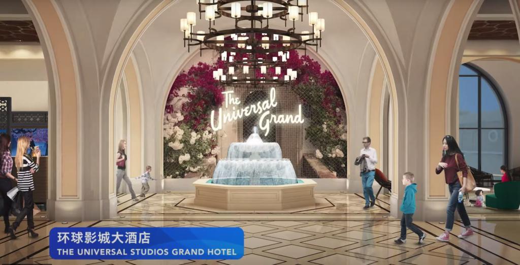 Universal Studios Grand Hotel - Universal Studios Beijing