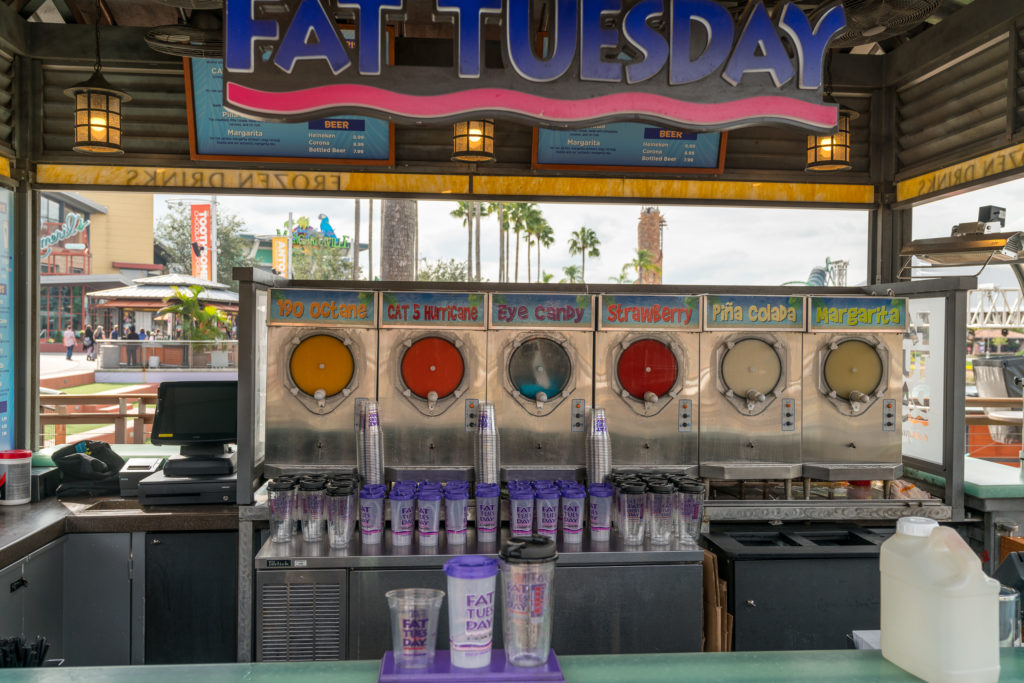 Fat Tuesday at Universal CityWalk