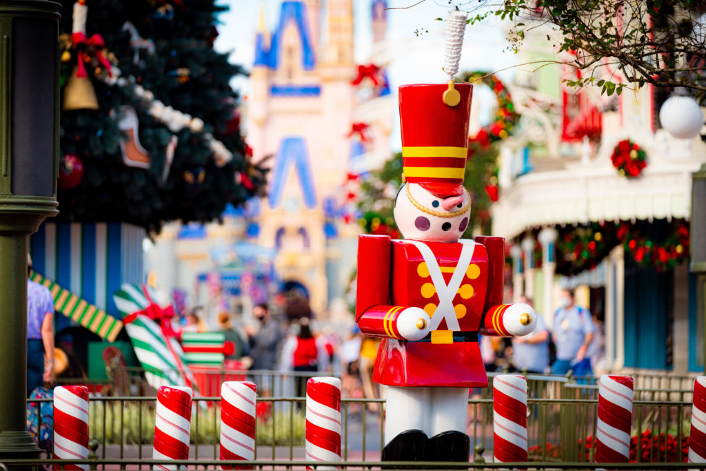 Christmas 2020 at Magic Kingdom