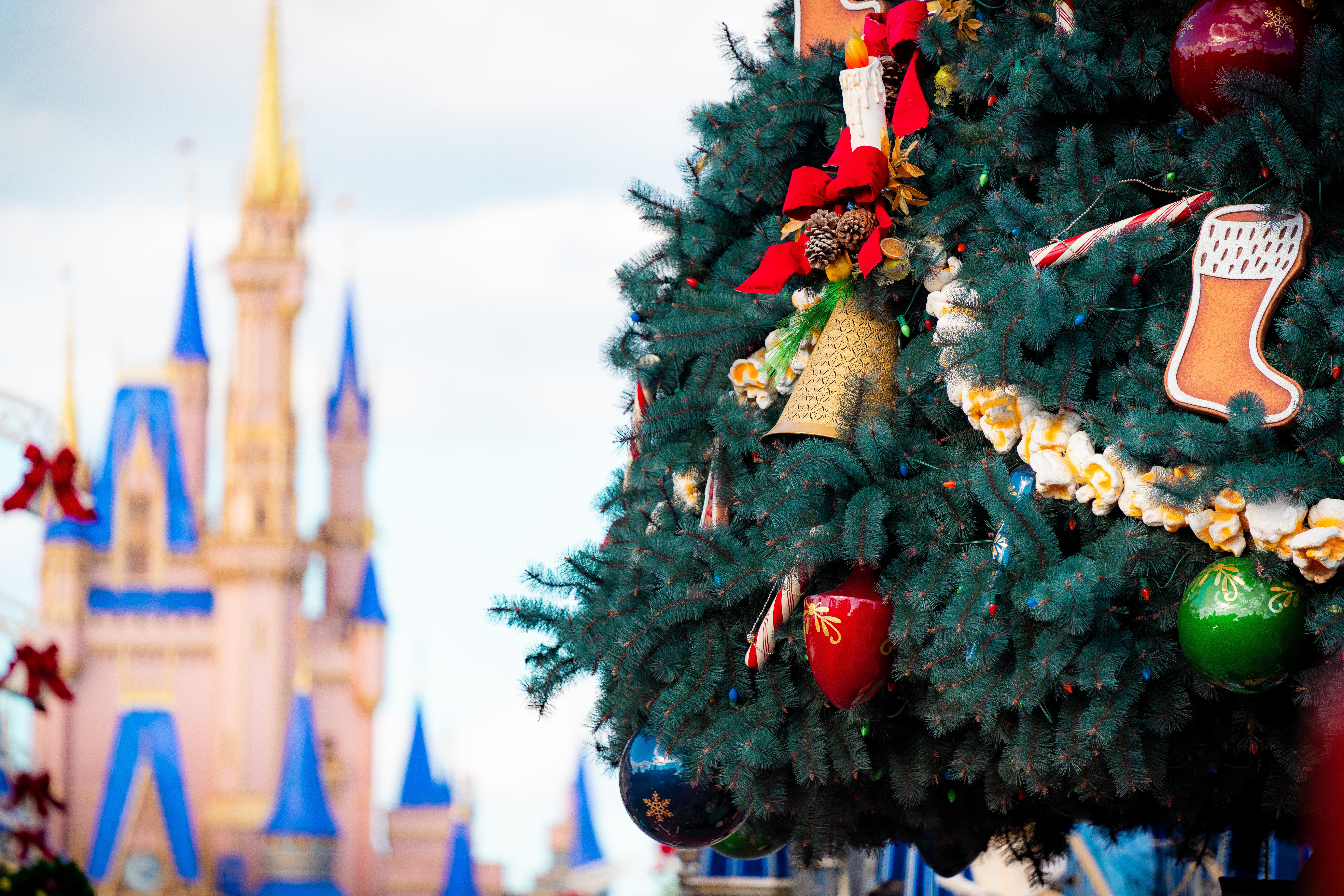 Christmas 2020 at Magic Kingdom
