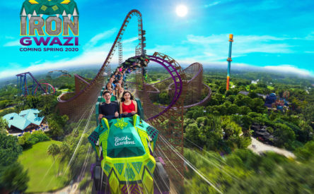 This is what it's like to ride the most intense coaster in Florida
