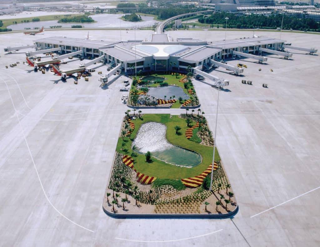 Orlando International Airport exterior