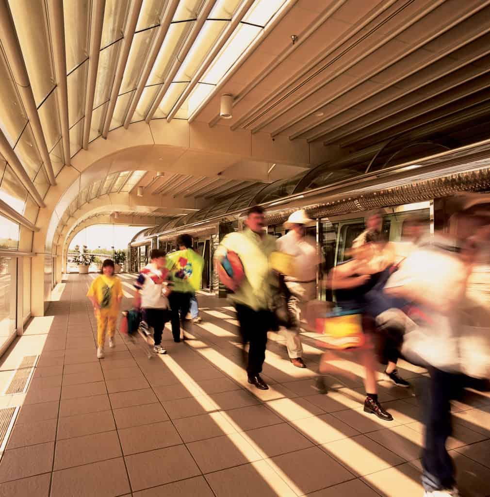 Passengers at Orlando International Airport