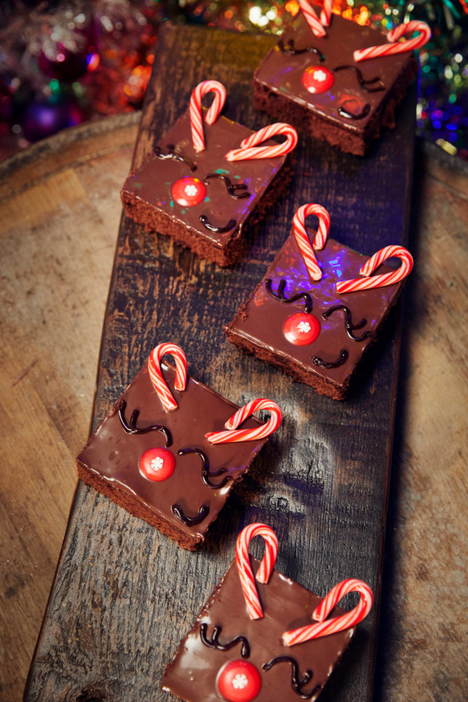Vegan Reindeer Brownies at Universal Orlando's Holidays 2020