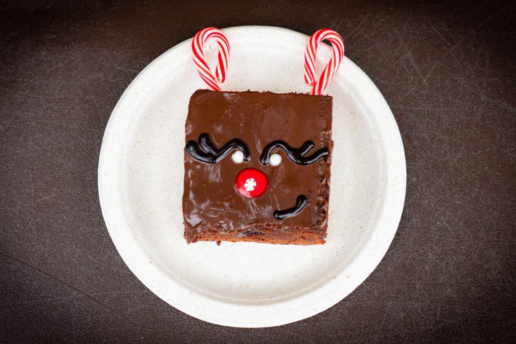 Reindeer Brownie at Holiday Tribute Store
