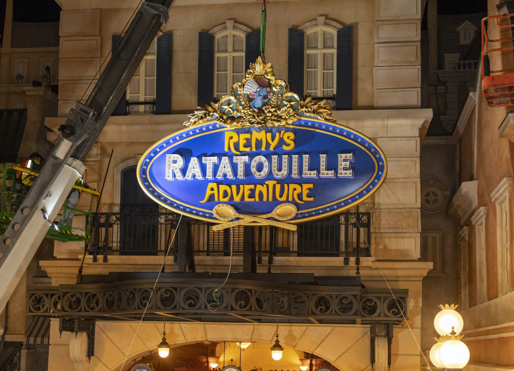 Remy's Ratatouille Adventure at Epcot