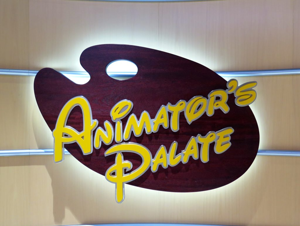 Disney Cruise Line's Animator's Palate