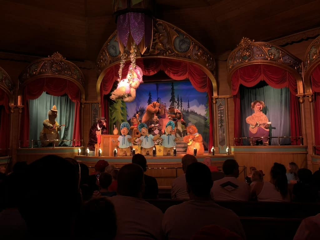 Country Bear Jamboree at Disney WorldCountry Bear Jamboree at Disney World