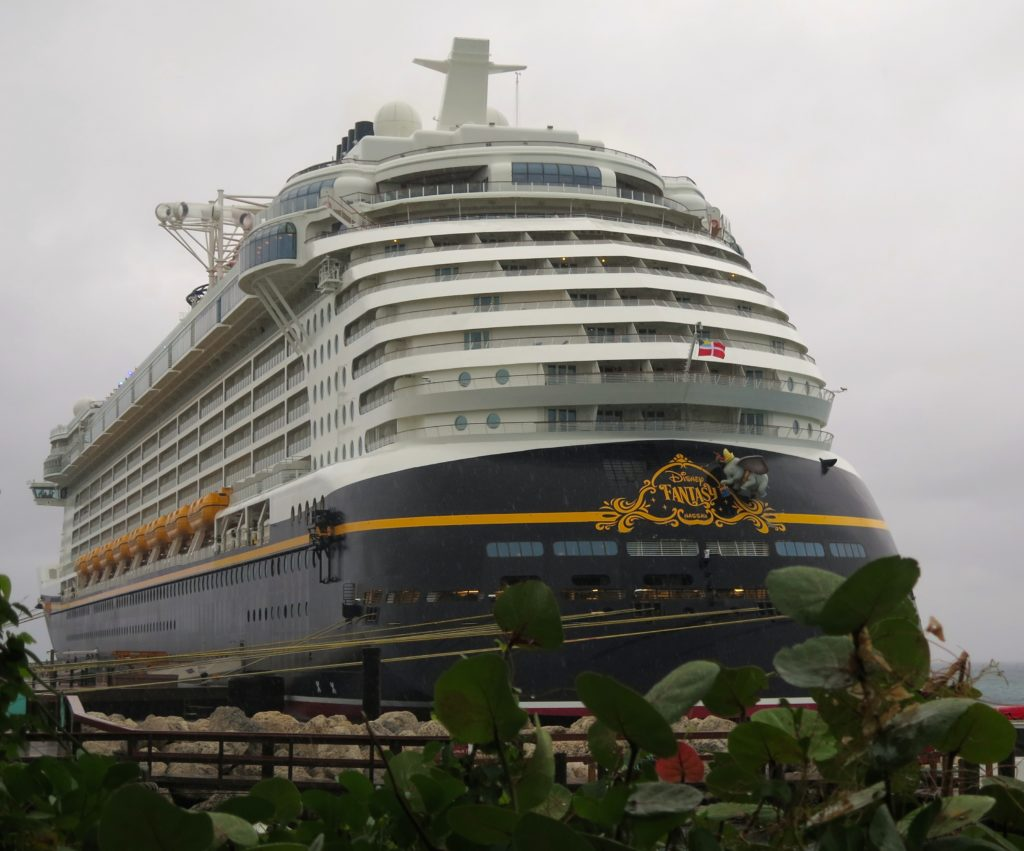 The Disney Fantasy in dock