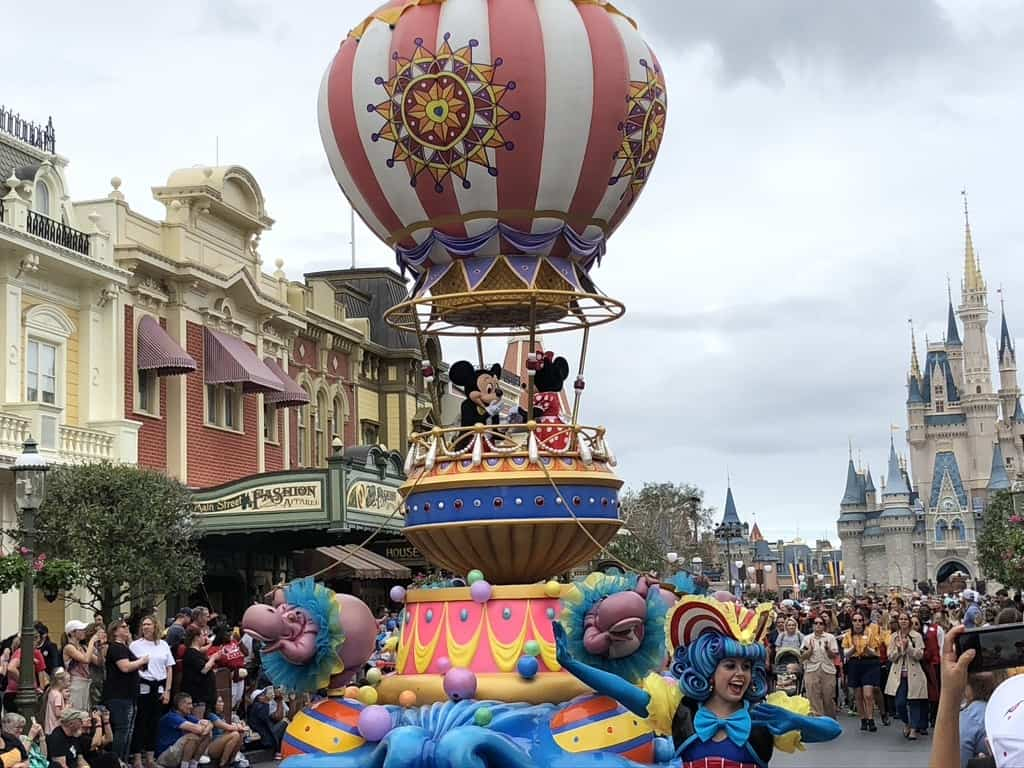 Disney parades at Magic Kingdom
