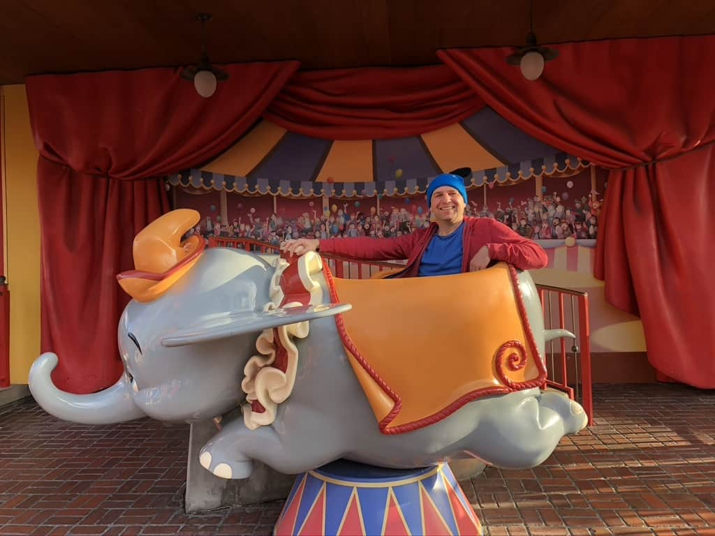 Dumbo the Flying Elephant at Magic Kingdom