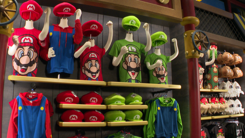 Super Nintendo World merch