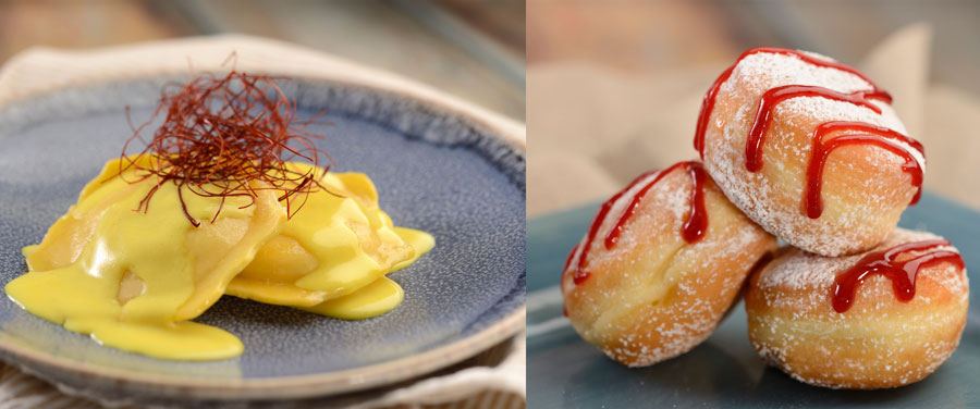 L'Arte di Mangiare's Lobster Ravioli and Italian Doughnuts