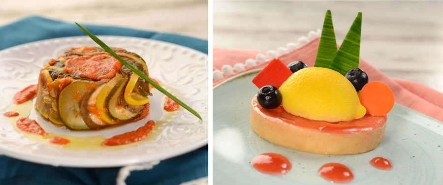 Festival Favorite showcases Remy's Ratatouille and a Lemon Blood-Orange Tart