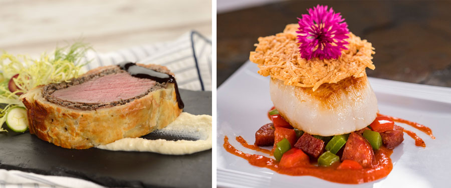 The Artist's Table: Beef Wellington and Pan-Seared Scallop