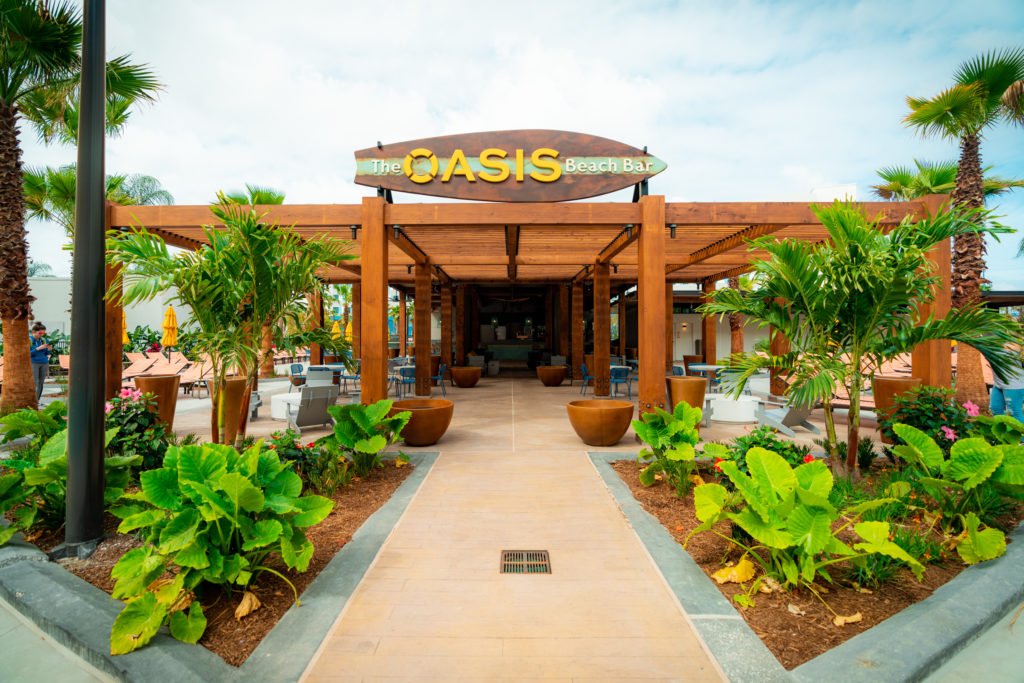 The Oasis Beach Bar at Dockside Inn and Suites