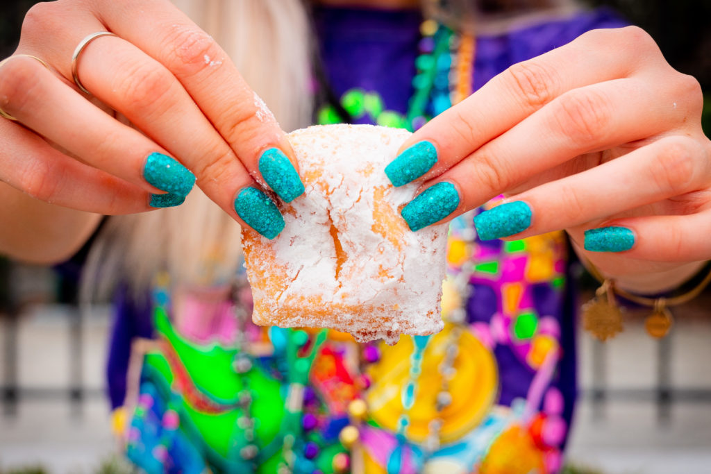 Beignets at Mardi Gras 2021