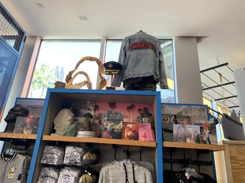 New retro theming and merch at the old Universal Studios Store at CityWalk