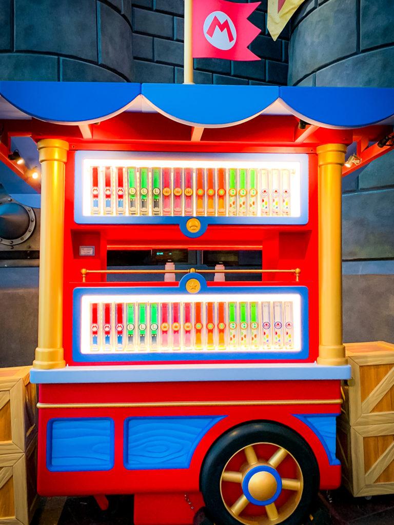 Power Up Band cart at Super Nintendo World