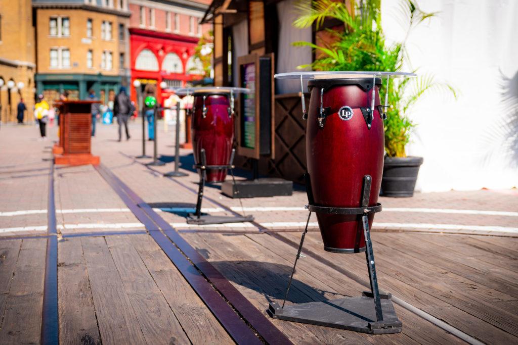 Puerto Rico food tent at Universal's Mardi Gras 2021
