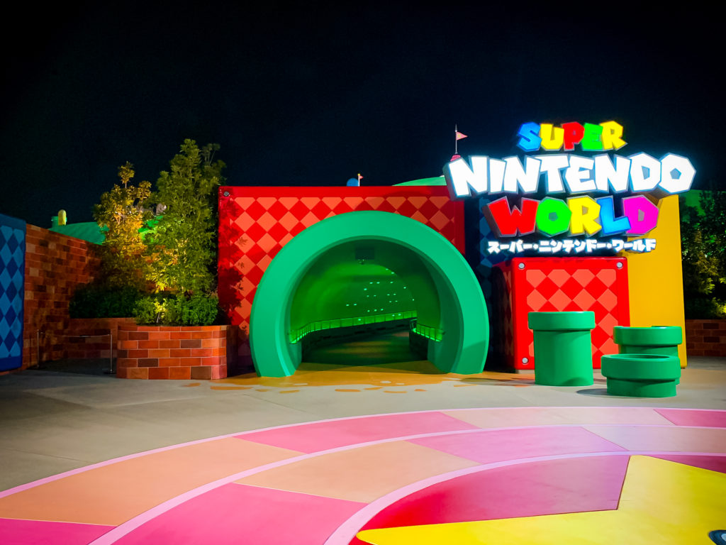 Super Nintendo World entrance