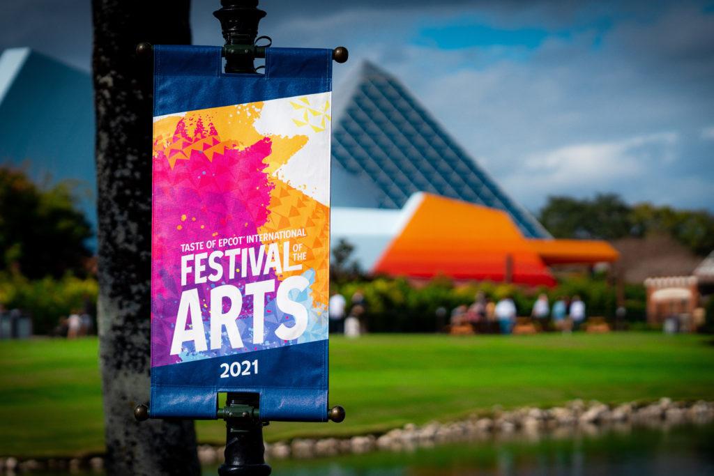 Taste of Epcot International Festival of the Arts 2021 banner