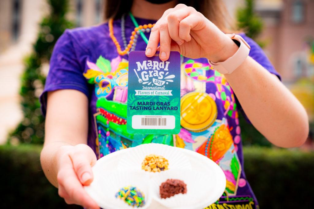 Tasting Lanyard at Mardi Gras 2021