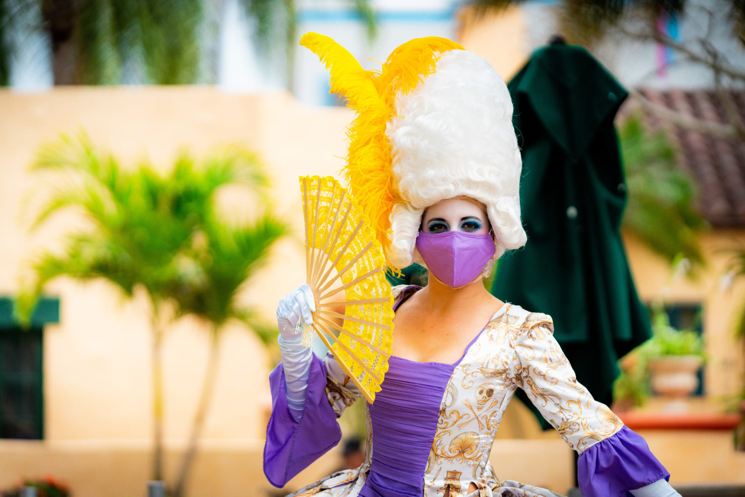 The wild and colorful performers at Mardi Gras 2021