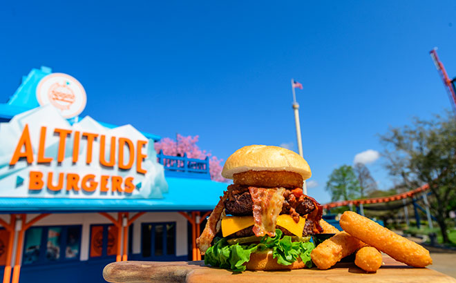 Altitude Burgers at SeaWorld Orlando