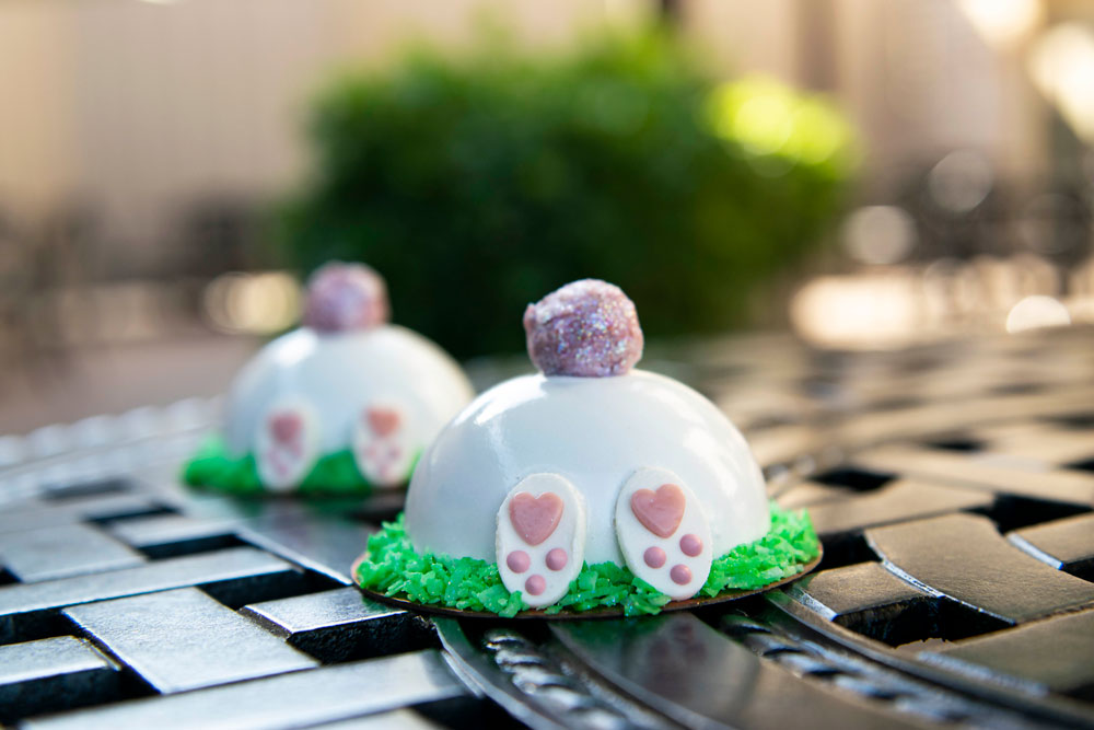 Bunny Mini Dome Cake Walt Disney World's Easter