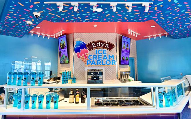 Edy's Ice Cream Parlor at SeaWorld Orlando