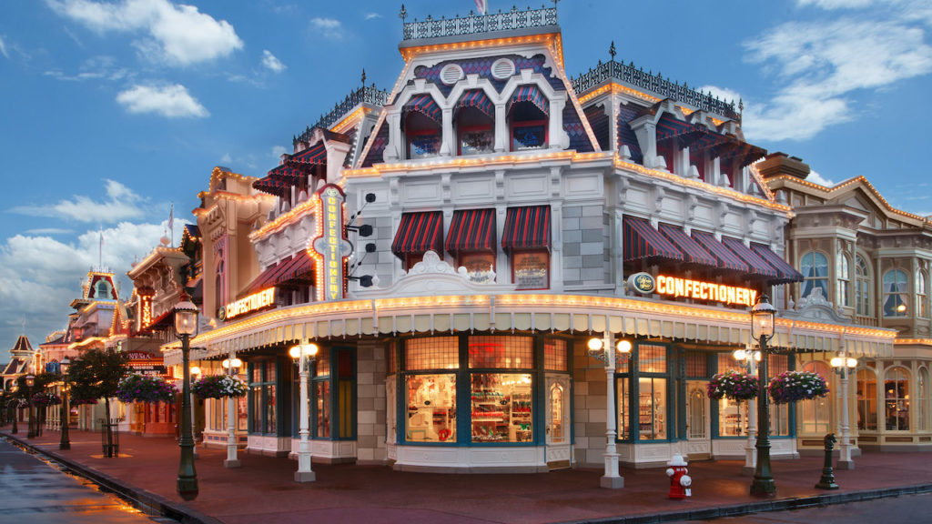 Main Street Confectionary expansion for Disney World's 50th anniversary