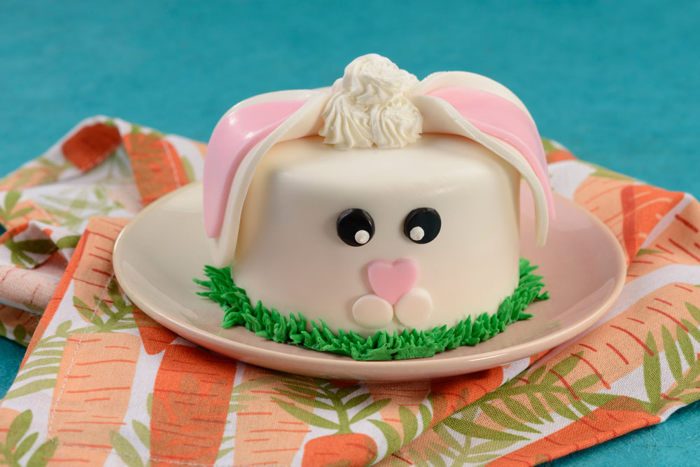 Mini Bunny Cake Walt Disney World's Easter